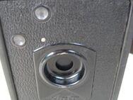 Agfa Box Kamera 6x9 Rollfilm Box mit Ledertasche - Moers