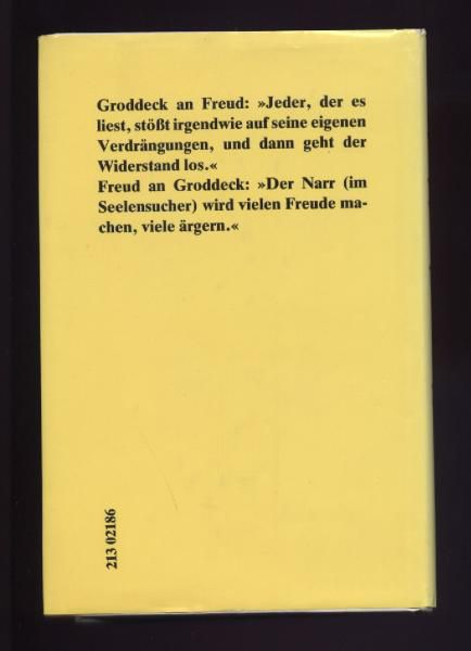 Der Seelensucher - Georg Groddeck - Nürnberg