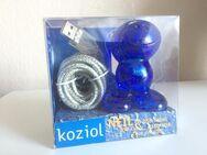 Design-Klassiker Koziol USB Kabelhalter Neil blau - NEU - - Bremen