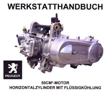 Peugeot Jet Force Werkstatthandbuch (Motor) - Bochum