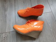 "Damen Wedge/Pumps/Schnürschuhe ""Mode Queen"" Gr.38 Orange  O.V.P. Anschauen - Köln"