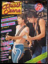 Musik Szene (Dez. 1983) mit Rolling Stones, Manfred Mann uvm.