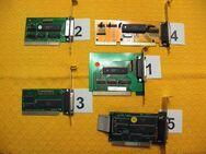 5  LPT - Parallel - Schnittstellen Karten für Drucker-, Scanner- Anschluß oder Lap-Link-Kabel PC-Verbindung - Aachen