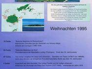 4 Briefmarken - Weihnachten 1995 - Fidschi Inseln - Bamberg