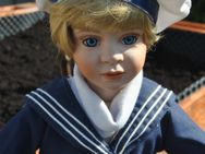 Porzellanpuppe Matrosenjunge Carina v.Holst 493/1000Das Puppenkunstarchiv selten - Zeuthen