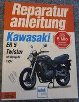 Reparaturanleitung Kawasaki ER 5 Twister ab 1997