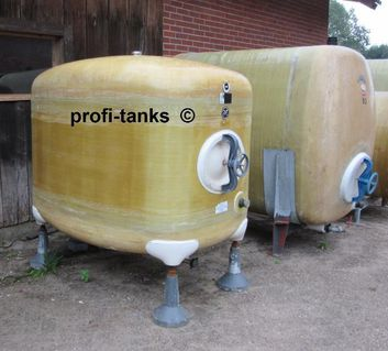 2.000 L Polyestertank GFK-Tank Transporttank Lagertank Wassertank - Nordhorn