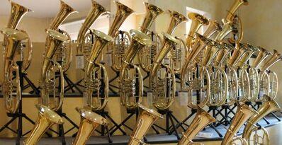 Cerveny Flügelhorn, Tenorhorn, Bariton, Euphonium und Tuba - Hagenburg