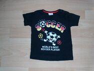 T-Shirt von Orsolino, schwarz mit Motiv, Gr. 86 - Bad Harzburg