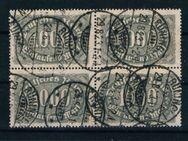 DR-4er Block Ziffern,29.08.1923,Mi:Nr.252,  Lot 374