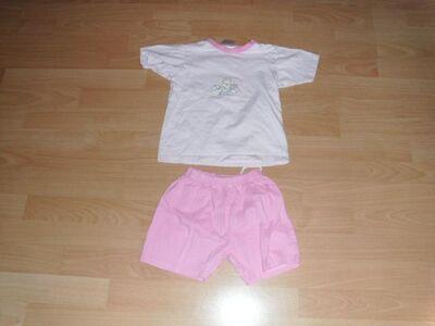 Kurzer Schlafanzug von Max & Maja, rosa, Gr. 98 - Bad Harzburg