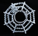 Nippel Ring Spinnennetz