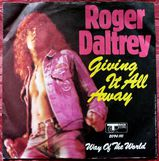 Vinyl Single - Roger Daltrey Giving it all away