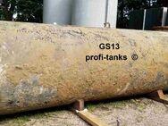 S13 gebrauchter 10.000 L Erdtank Stahltank unterirdischer Löschwassertank Wasserzisterne Löschwasserbehälter Lagertank mit Bitumenanstrich oder Isolierung