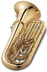 Jupiter Tuba, 4 Ventile, Modell JP-482 L in B - Neuware mit Koffer