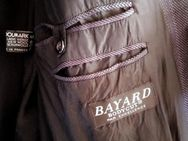 Schurwolle Nadelstreifenanzug >>Bayard Bodycut<< (Made in France) - Kassel
