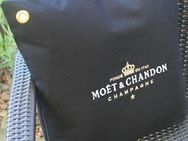 1x schw. Moet Outdoor Ice Imperial Kissenbezug Kissen Champagner Bar Bistro Cushion Pillow