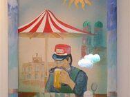 Zimmermann 4 Gemälde von Leonore Zimmermann