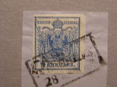 Österreich 9 Kreuzer 1850-58,MI:AT 5X,  Lot 655 -