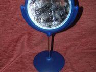 kleiner blauer kippbarer Spiegel um sich zu Schminken - Bad Belzig Zentrum