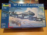 Fw 200 C-4 Condor Bomber Maßstab 1:72