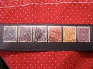 DR,Posthornmarken,1922-23,Mi.Nr.224+205-209,  Lot 281