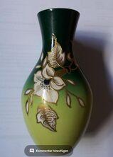 Vase mit Goldrelief Schaubach Kunst Porzellan