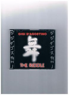 Gigi D´Agostino-The Riddle-Maxi-CD,von 1999 - Linnich