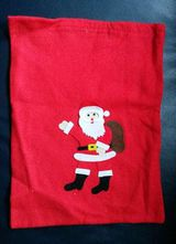 Weihnachten Nikolaussack Weihnachtsack Beutel Filz ca. 40 x 30 cm