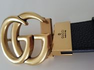 Gucci Unisex Wendbarer Gürtel GG Schnalle Schwarz/Braun - Neustadt (Rübenberge)