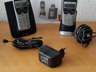 Telephon Sinus 212 A T-COM Telefon mit 2. Mobilteil - Schermbeck