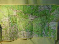 Alte Landkarten Balaton / Riesengebirge um 1970 / Urlaubsgebiete Ungar. VR, CSSR - Zeuthen