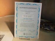 KAHLA Porzellan Sammelteller Auf dem Sofa mit Zertifikat + Beschreibung, 1994 - Zeuthen