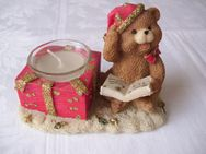 Bärenfigur Poly Bear mit Teelicht - Saarbrücken
