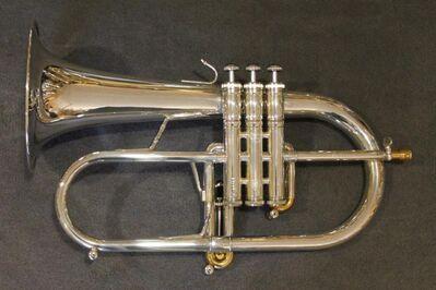 Neuw. Stomvi Mahler Titan Brass Band Romailler - Flügelhorn. Mod. 5944 mit Koffer - Hagenburg