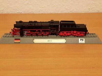 Modell BR 52 der Deutschen Reichsbahn - Kassel