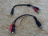 Cinch Kabel ? Siehe Fotos. Preis für beide zusammen