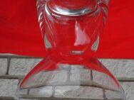 Glas Vase 14,5 cm Blumenvase Leuchter schlicht Deko 4,- - Flensburg