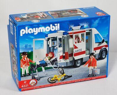 Playmobil  4221 Rettungstransporter - Kassel