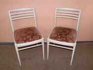 Zwei Benze Stühle der 50er/60er Jahre / Küchenstühle / Holzstühle - Zeuthen