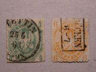 AD-Preußen 1861,4+6 Pf..,MI:DE 14-15,  Lot 568