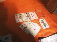 Skatspiel als Werbeträger Petrus der Ur Boonekamp um 1970 / Joker Spielkarten - Zeuthen