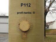 P112 gebrauchter 20.000 L Polyestertank GFK-Tank Lagertank Flachboden Wassertank Regenauffangtank Futtermitteltank Rapsöltank Sickersafttank Gülletank - Nordhorn