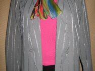 NEU* Stylicher * Vintage * Designer * Nadelstreifen * Blazer * Gr. 36- 38/ S, silbergrau* - Riedlingen Zentrum