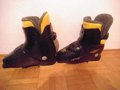 Kinderskischuhe Tecno Pro easy team 32 Größe 35 - Neuried (Bayern)