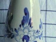 dekorative Delfter Vase, liebevoll handbemalt, jetzt neuer Preis!! - Niederfischbach