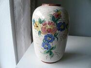 Bay Keramik Bodenvase 543/30 Vase 35 cm mit Blumen-Dekor Retro Vintage 25,- - Flensburg