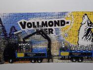 MAN STEYRHängerzug mit KranVollmond Bier Modell Gefra H0 Truck LKW - Nürnberg