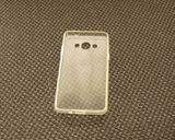 Silikon Schutzhülle - Hülle / Cover Transparent f. SAMSUNG Galaxy J3, J5 u.a.