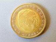 1 Euro Kursmünze Monaco 2001,Lot 77